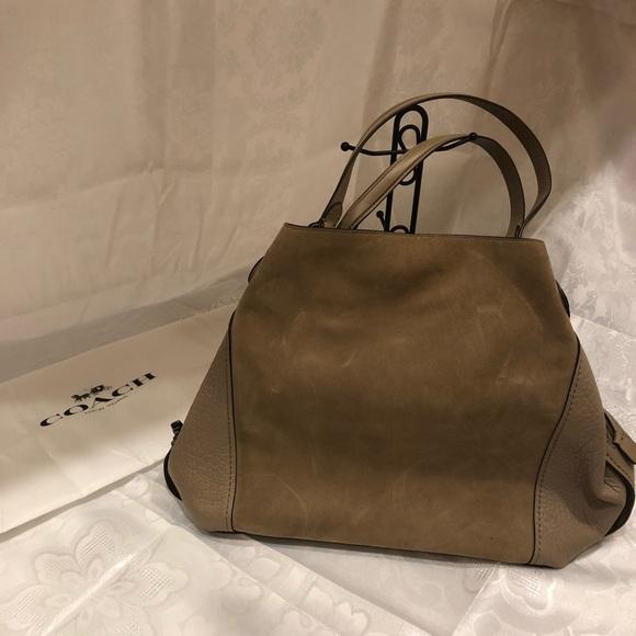 Coach Handbags - Coach Suede Leather Shoulder Bag 276b997b7327f